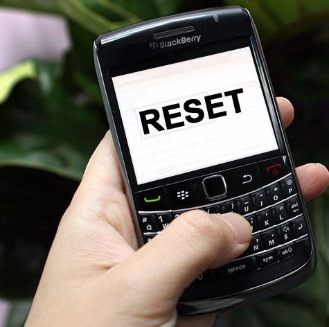 blackberry-Reset