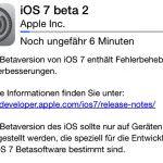 iOS 7 Beta 2 ist verfügbar und nun auch für das iPad