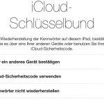 Sicherer Kennwortsync mit iCloud Keychain