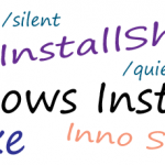 Silent Install Application List und Erklärung