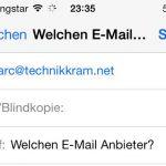 Welchen E-Mail Anbieter kann man empfehlen?