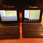 iPad Tastatur Hüllen im Vergleich (AVANTO vs. Joyfect)