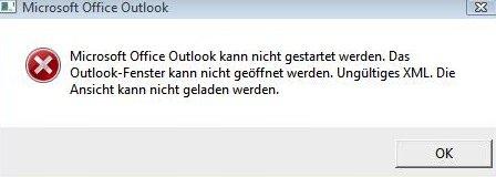 Fehlermeldung_Outlook_Fenster