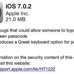 Apple veröffentlicht iOS 7.02