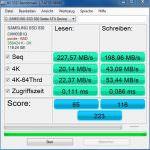 Samsung SSD 830 – 840 und 840 Evo im Benchmark Test