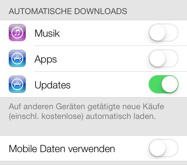 Auto-App-Update Diese Funktion hält auf Wunsch alle Apps automatisch up to date