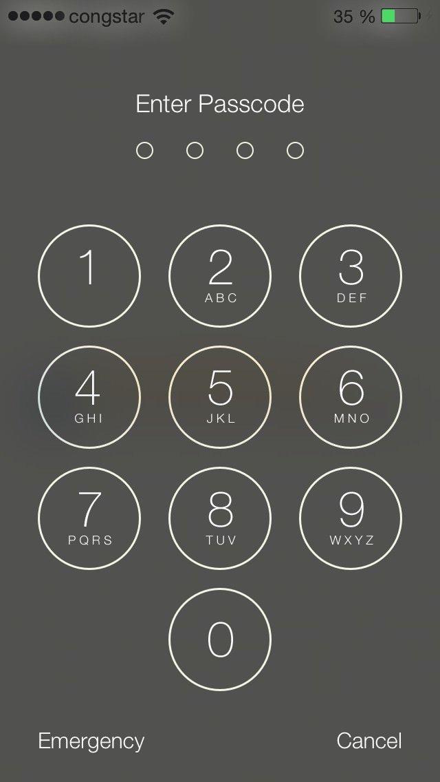 Passcode Eingabe verbessert Die Eingabemaske für den Gerätecode den mandringend aktivierensollte, wurde durch größere Buttons verbessert.