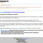Datenabgleich für alle Amazon.de Kunden ist Phishing in Perfektion und daher so gefährlich