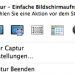 Mit Captur einfacher Screenshots unter OS X erstellen
