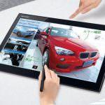 Sharp baut ein Riesen Tablet mit 15,6″ und Stylus – wo geht die Reise hin?