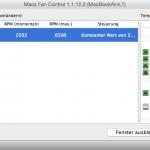 Mac Lüfter auch im Boot Camp mit Macs Fan Control steuern