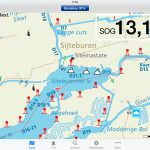 iPad und iPhone für Boots Navigation in den Niederlanden