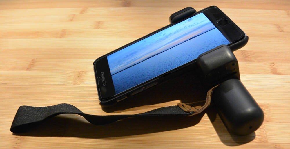 Weihnachtsgeschenk bis 40 Euro: Smartphone-Halterung Shoulderpod S1
