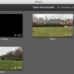 iMovie Film zeigt in iPhoto schwarzes Vorschaubild hier ist die Lösung