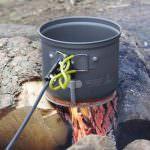 PowerPot V liefert USB Strom aus dem Campingkocher