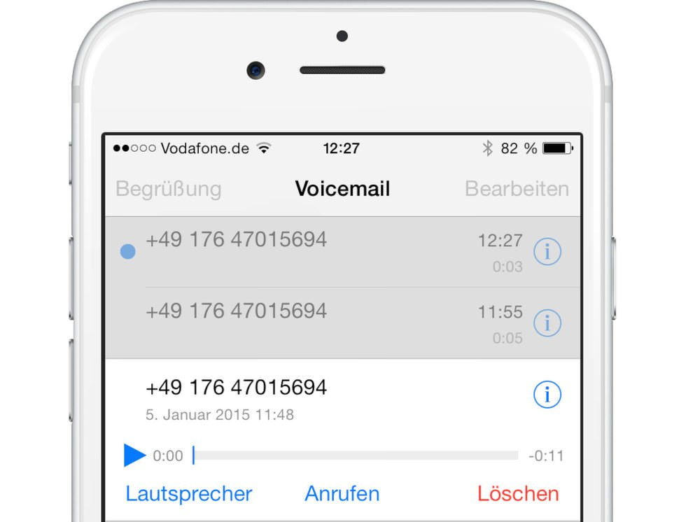 how to get visual voicemail on iphone vodafone visual voicemail aktivieren und nervige sms 20120