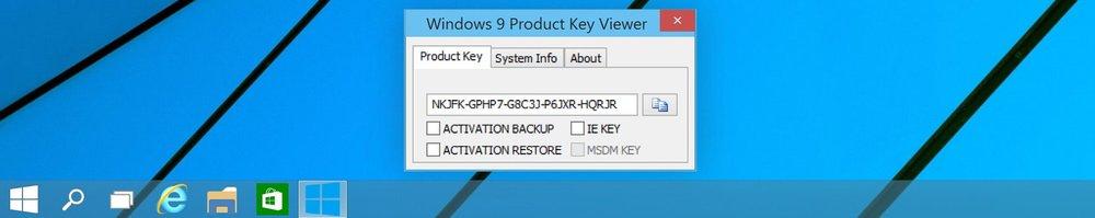 Lizenzschlüssel von allen Windows Versionen auslesen