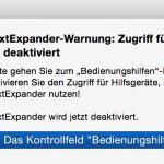 TextExpander unter Mac OS X 10.10 Yosemite nutzen