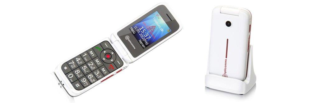 Weihnachtsgeschenk bis 70 Euro: Amplicom PowerTel M7000 Seniorenhandy