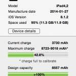 coconutBattery liest jetzt auch den Akku von iPhone und iPad aus