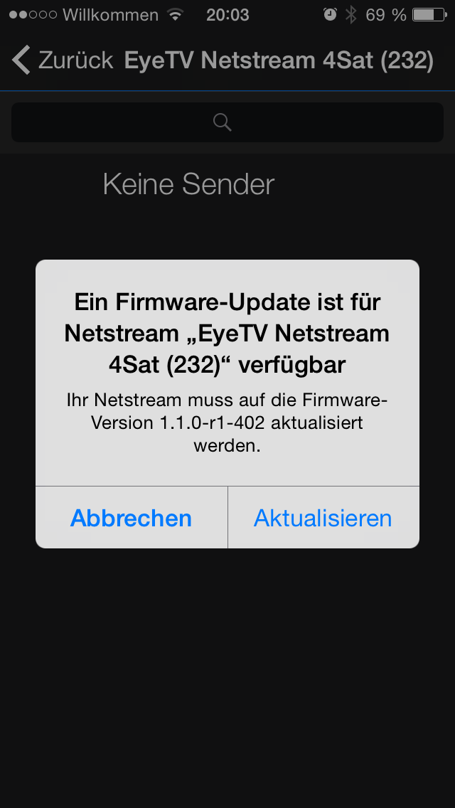 EyeTV Netstream 4Sat Firmware 1