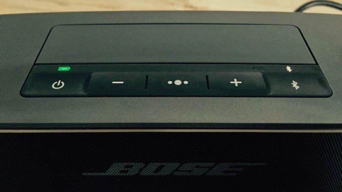 Bose Soundlink mini II Tasten