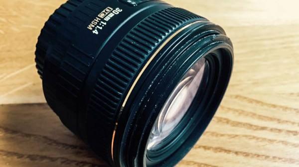 Sigma 30 mm Festbrennweite