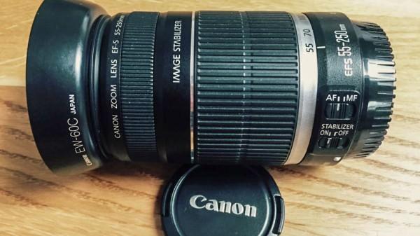 Canon 55-250 mm