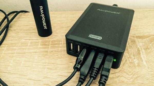 RAVPower Tischladegerät 50 Watt