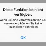 Apple unterbindet App Store-Bewertungen von Betatestern