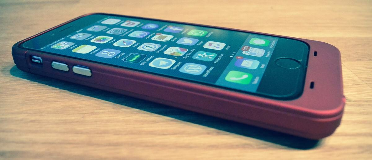 easyacc 3200mah iphone 6 battery case im test. Black Bedroom Furniture Sets. Home Design Ideas