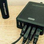 RAVPower USB Tischladegerät 5V mit 6 Ports und 10,2A Leistung