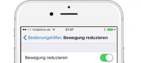 iOS9-Bewegung-reduzieren