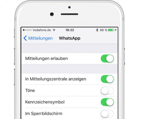 iOS9-Mitteilungen