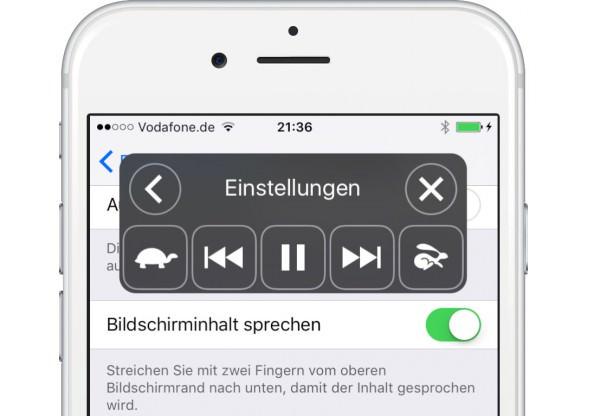iOS9-Vorlesen