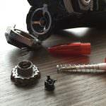 Neue Feder für den Philips SensoTouch 3D Scherkopf