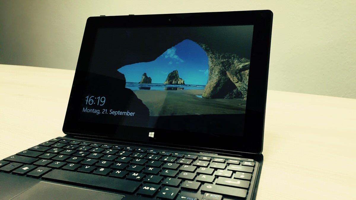 Windows 10 auf TrekStor SurfTab wintron 10.1 installieren ...
