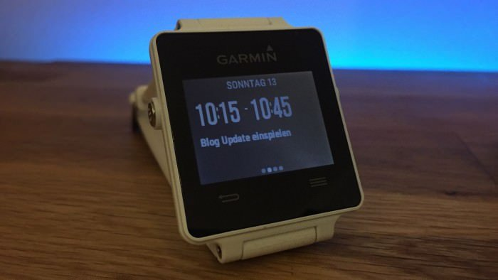 garmin vivoactive fitness tracker smartwatch im test. Black Bedroom Furniture Sets. Home Design Ideas