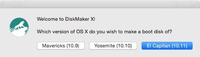 DiskMaker X-1