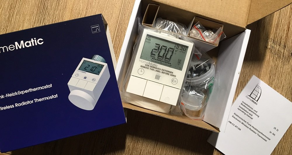 Homematic - Heizungsthermostat