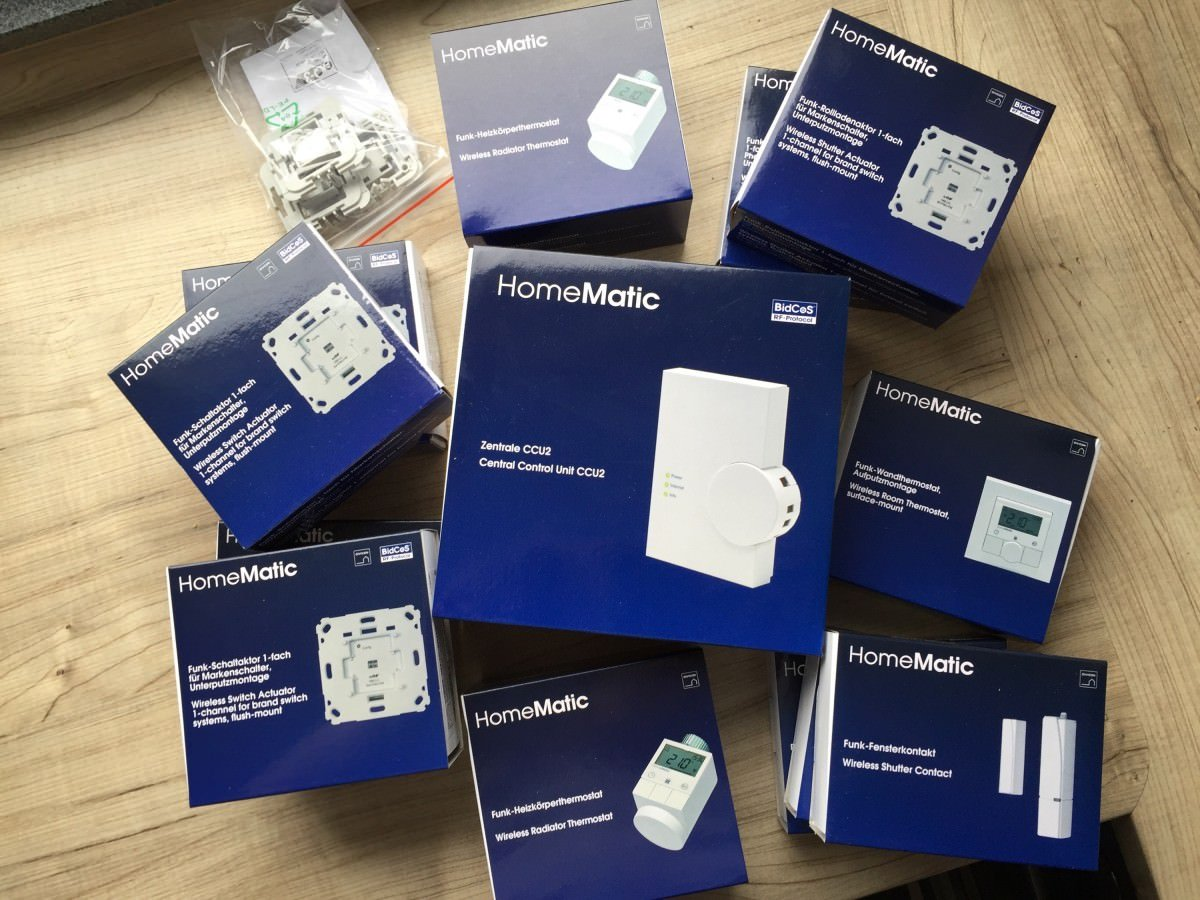 Homematic-Paket