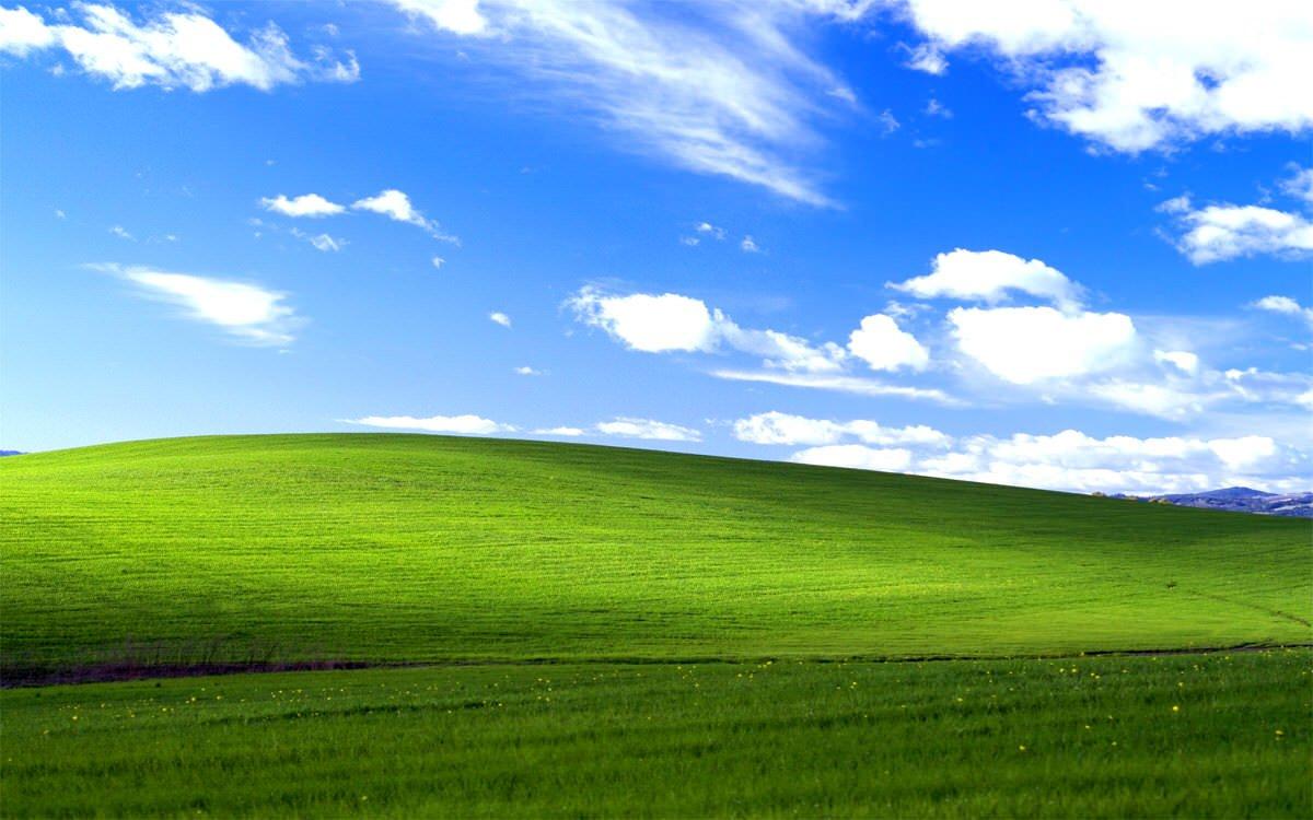 Bliss ist eines der meist betrachteten Bilder der Welt › technikkram.net