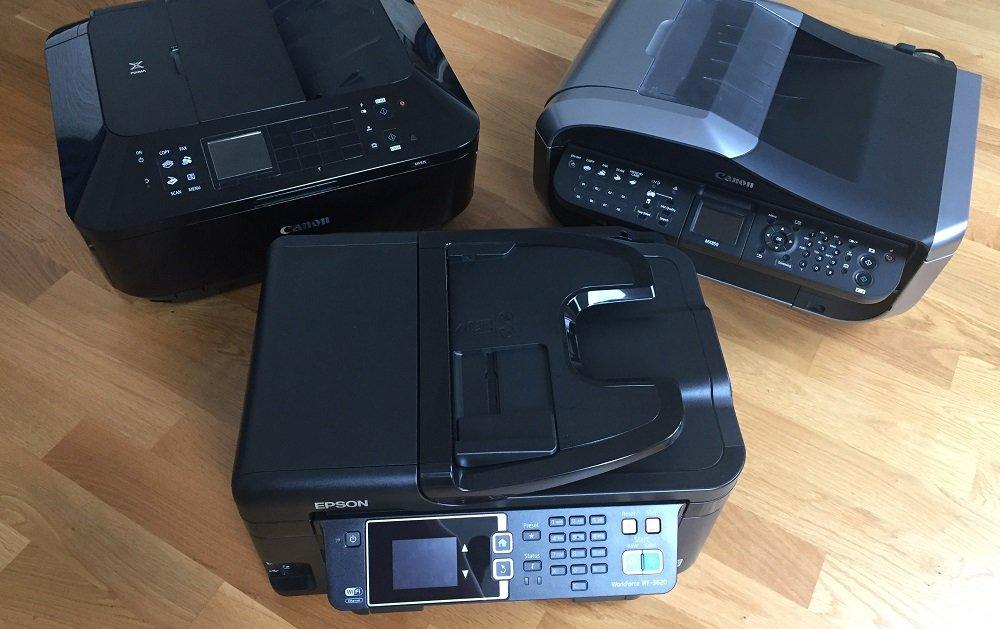 Canon Epson Drucker