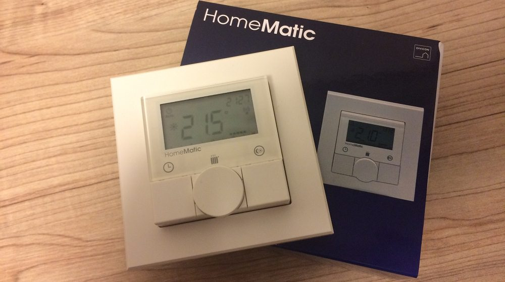 Homematic - Funk-Wandthermostat