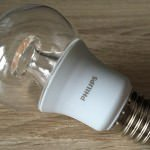 Philips dimmbare LED Leuchte mit warm glow