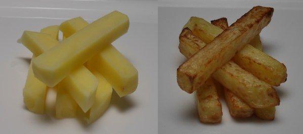 Kartoffeln vs. Pommes