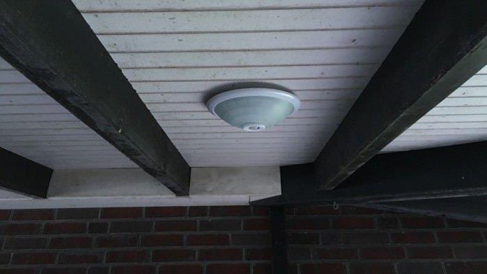 TEVEA LED Sensorleuchte 1