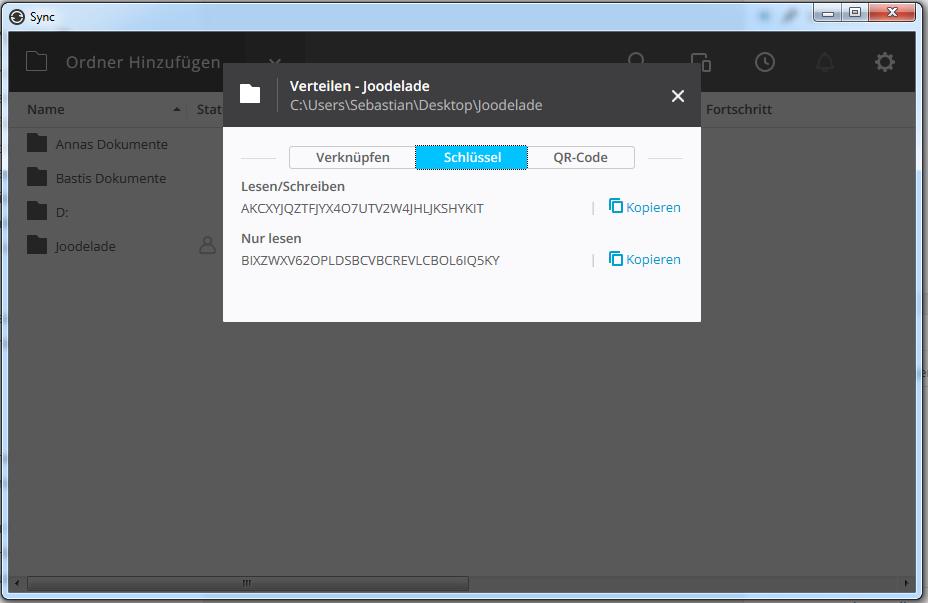BitTorrent Sync Verschlüsselt