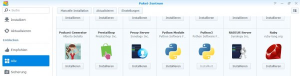 Installation von Python