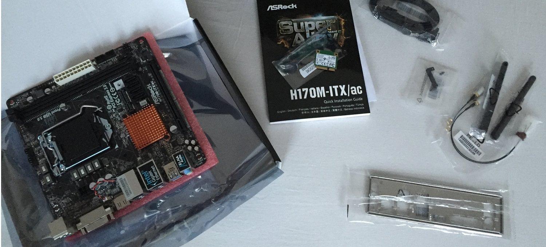 Asrock H170M ITX